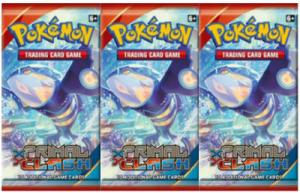 Pokémon, XY Primal Clash, 3 Boosters