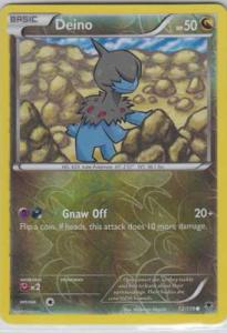 Phantom Forces, Deino - 72/119 - Reverse Foil Common