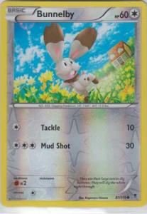 Phantom Forces, Bunnelby - 87/119 - Reverse Foil Common