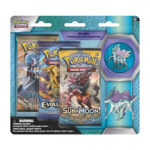 1 Pin Pack, Suicune