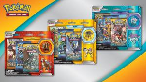 3 x Pin Pack: Raikou, Entei & Suicune