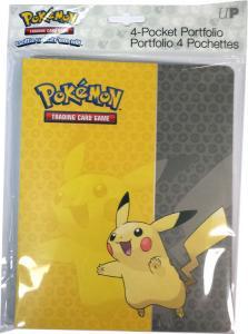 Pokémon, soft-cover pärm A5 (Rymmer 40 kort) Pikachu - 4 pocket