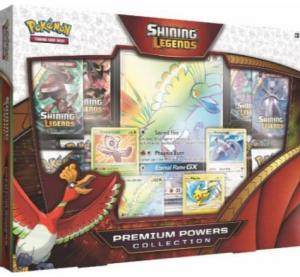 Pokémon, Shining Legends, Premium Powers Collection