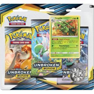 Pokémon, SM Unbroken Bonds, Trippelblister: Sceptile