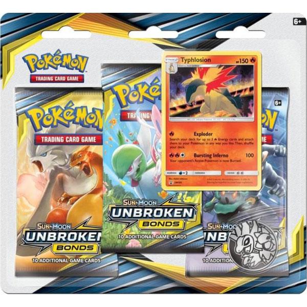 Pokémon, SM Unbroken Bonds, Trippelblister: Typhlosion