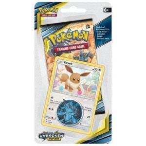 Pokémon, SM Unbroken Bonds, Checklane Blister Pack: Eevee