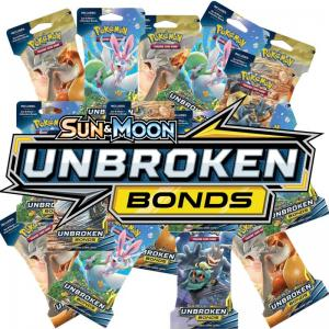 24st Pokémon, SM Unbroken Bonds, Sleeved Booster