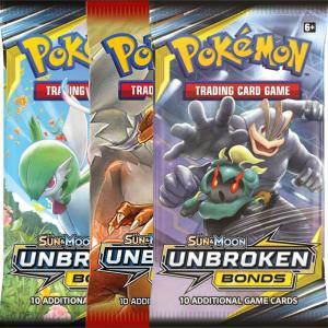 Pokémon, SM Unbroken Bonds, 3 Boosters