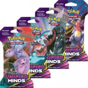 Pokémon, SM Unified Minds, 4 Sleeved Boosters (Alla 4 motiv)
