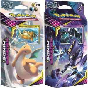 Pokémon, SM Unified Minds, Theme Deck x 2 (Dragonite + Necrozma)