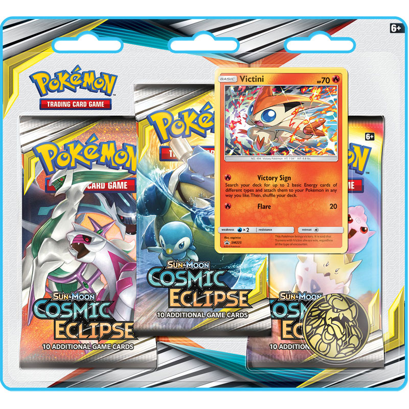 Pokémon, SM Cosmic Eclipse, Trippelblister: Victini