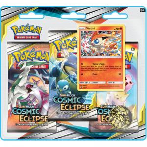 Pokémon, SM Cosmic Eclipse, Three Pack Blister: Victini