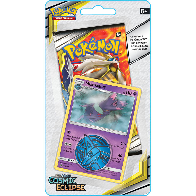 Pokémon, SM Cosmic Eclipse, Checklane Blister Pack: Mismagius
