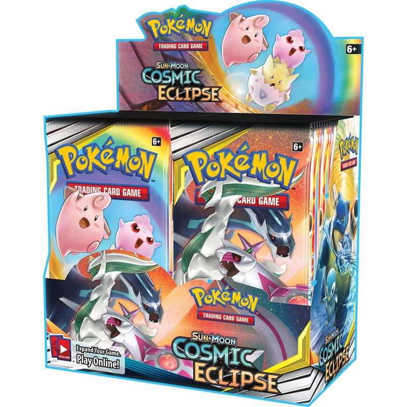 Pokémon, SM Cosmic Eclipse, Display / Booster Box