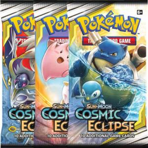 Pokémon, SM Cosmic Eclipse, 3 Boosters
