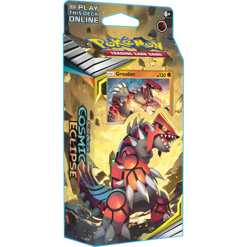 Pokémon, SM Cosmic Eclipse, Theme Deck: Groudon