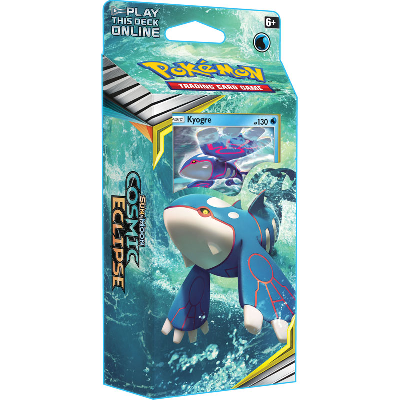 Pokémon, SM Cosmic Eclipse, Theme Deck: Kyogre