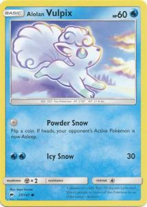 SM Burning Shadows, Alolan Vulpix - 27/147 - Common