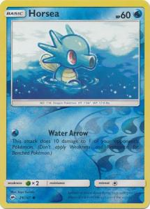 SM Burning Shadows, Horsea - 29/147 - Common - Reverse Holo