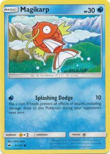 SM Burning Shadows, Magikarp - 32/147 - Common