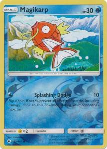SM Burning Shadows, Magikarp - 32/147 - Common - Reverse Holo