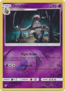 SM Burning Shadows, Dusclops - 52/147 - Uncommon - Reverse Holo