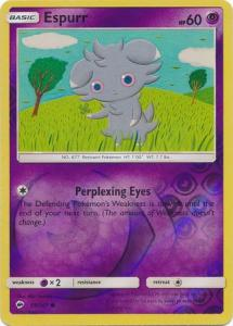 SM Burning Shadows, Espurr - 59/147 - Common - Reverse Holo