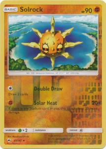 SM Burning Shadows, Solrock - 69/147 - Uncommon - Reverse Holo