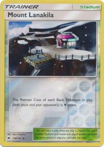 SM Burning Shadows, Mount Lanakila - 118/147 - Uncommon - Reverse Holo