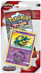 Pokémon, SM Crimson Invasion, 1 Checklane Blister Pack: Dhelmise