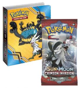 Pokémon, SM Crimson Invasion, Collector's album (Mini-pärm + 1 booster)