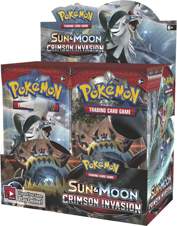 Pokémon, SM Crimson Invasion, Display / Booster Box