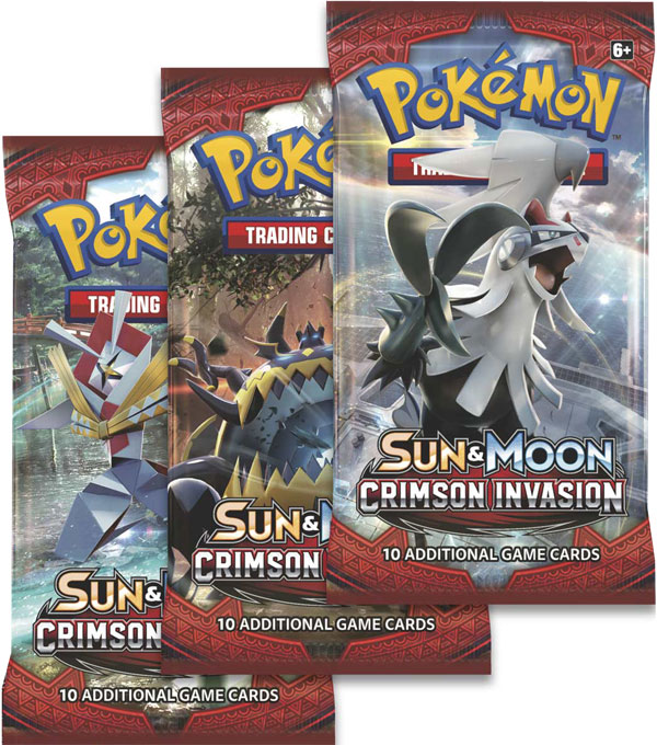 Pokémon, SM Crimson Invasion, 3 Boosters