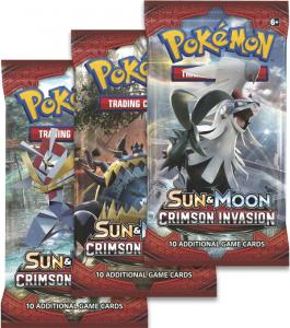 Pokémon, SM Crimson Invasion, 3 Boosters