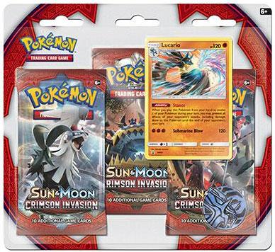 Pokémon, SM Crimson Invasion, Trippelblister: Lucario