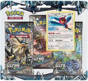 Pokémon, SM Ultra Prism, Three pack blister: Porygon-Z