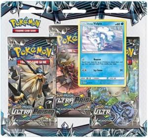 Pokémon, SM Ultra Prism, Three pack blister: Alolan Vulpix