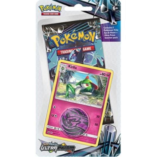 Pokémon, SM Ultra Prism, 1 Checklane Blister Pack: Kirlia