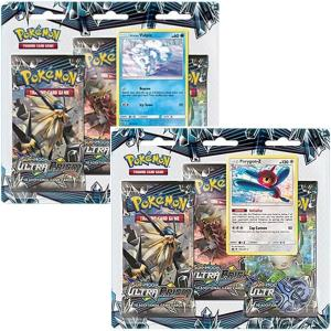 Pokémon, SM Ultra Prism, Trippelblister x 2 (Porygon-Z + Alolan Vulpix)