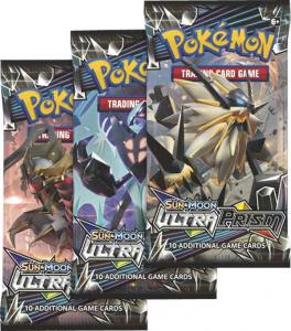 Pokémon, SM Ultra Prism, 3 Boosters