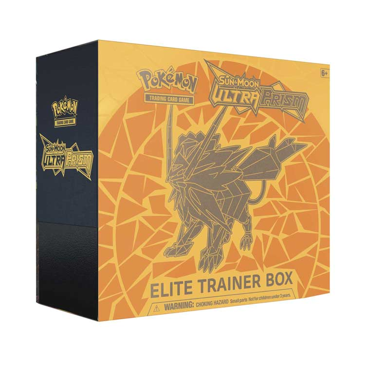 Pokémon, SM Ultra Prism, Elite Trainer Box - Dusk Mane Necrozma
