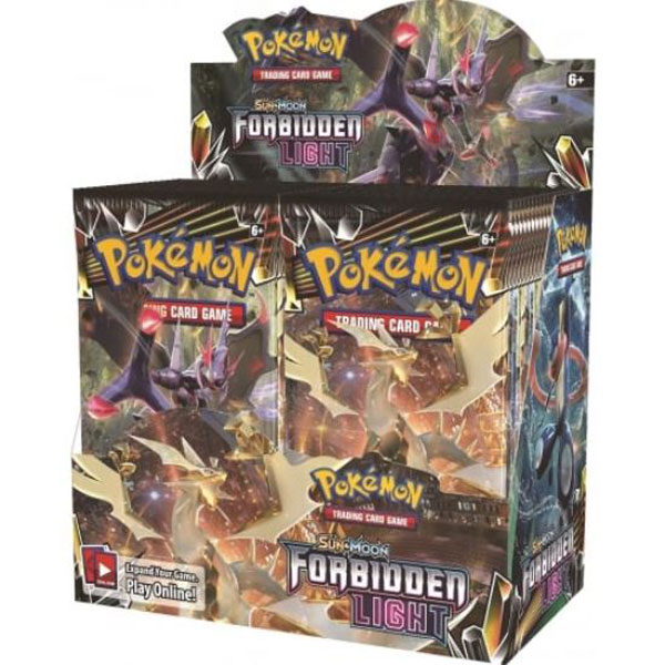 Pokémon, SM Forbidden Light, Display / Booster Box