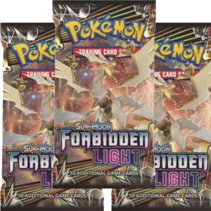 Pokémon, SM Forbidden Light, 3 Boosters