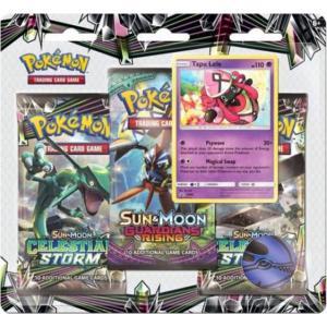 Pokémon, SM Celestial Storm, Trippelblister: Tapu Lele
