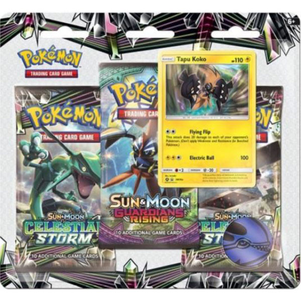 Pokémon, SM Celestial Storm, Trippelblister: Tapu Koko