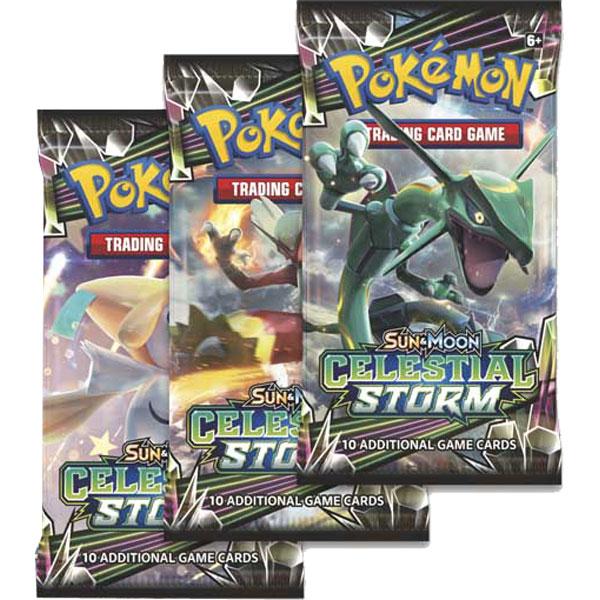 Pokémon, SM Celestial Storm, 3 Boosters