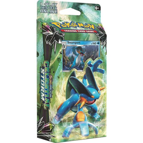 Pokémon, SM Celestial Storm, Theme Deck: Swampert