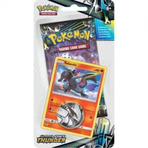 Pokémon, SM Lost Thunder, Checklane Blister Pack: Salandit