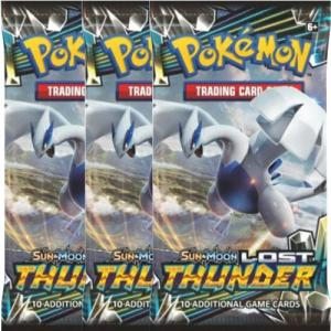 Pokémon, SM Lost Thunder, 3 Boosters