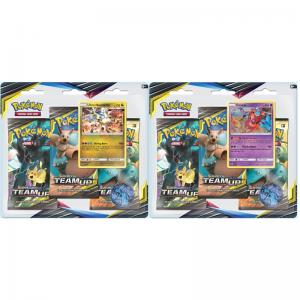 Pokémon, SM Team Up, Trippelblister x 2 (Deoxys + Ultra Necrozma)